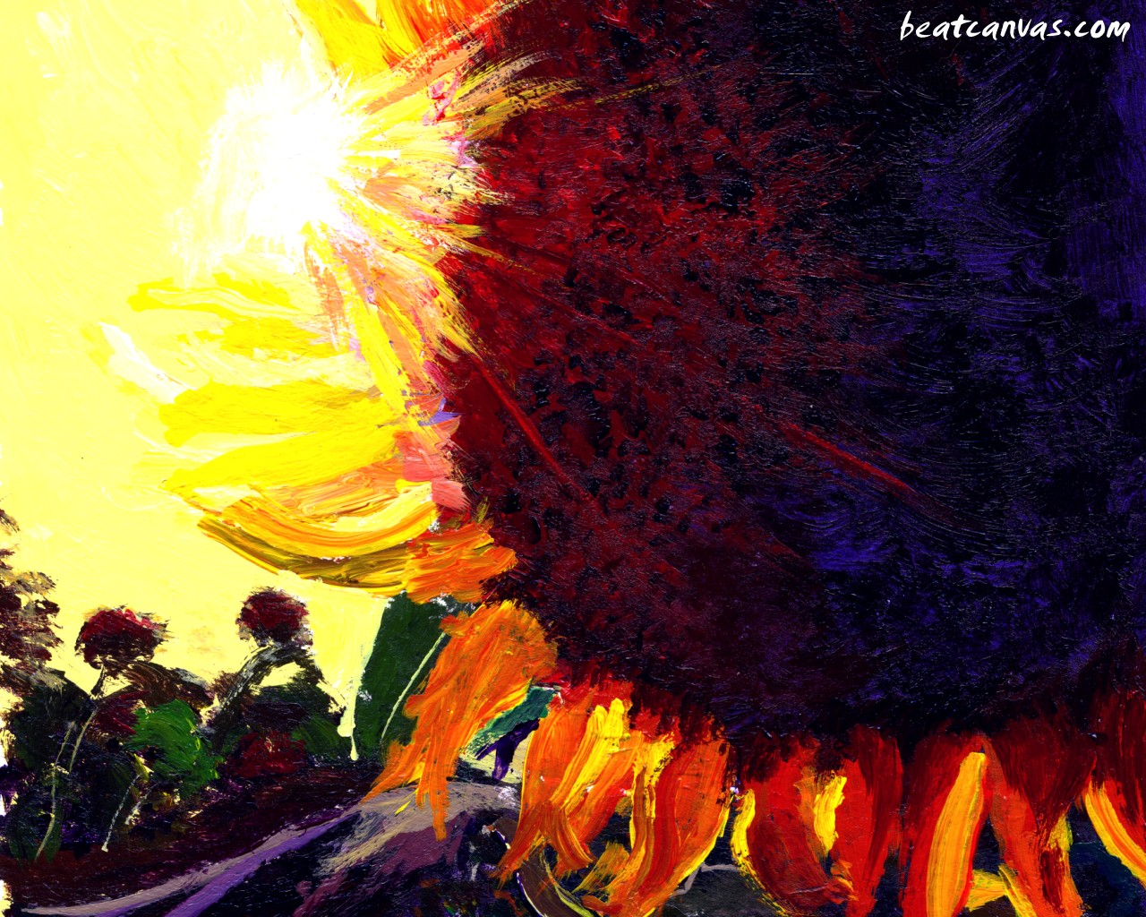 Hdwallpapers in sunflower in water wallpapers html filesize 1600x1200